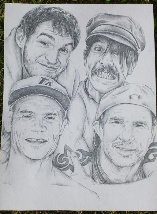 Red Hot Chili Peppers por toomaserapart